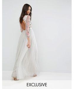Needle & Thread | Платье Из Тюля