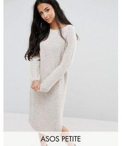 ASOS PETITE | Платье Миди Крупной Вязки