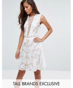 Maya Tall | Платье Мини С Цветочной Отделкой