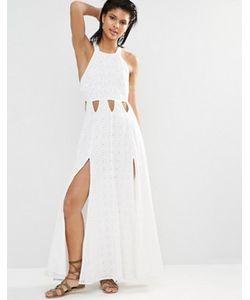 Tularosa | Платье Макси С Разрезами По Бокам Duchess