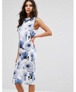 Unique 21 | Платье Миди С Цветочным Принтом