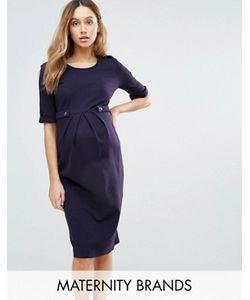 Isabella Oliver | Платье С Короткими Рукавами И Пуговицами