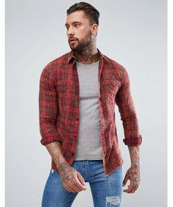 New Look | Выбеленная Рубашка Классического Кроя В Клетку
