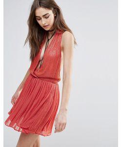Raga | Платье Мини С Декоративной Отделкой Be Mine