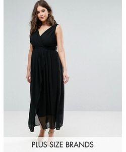 Praslin | Платье Макси С V-Образным Вырезом