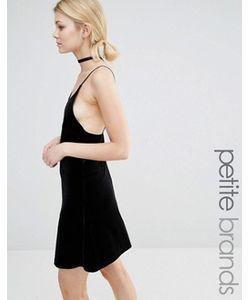 Vero Moda Petite | Бархатное Платье На Бретельках