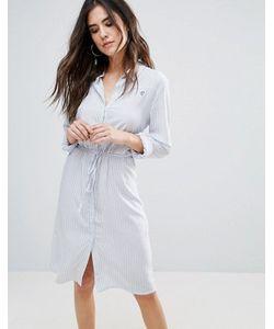 Soaked In Luxury   Платье-Рубашка С Поясом