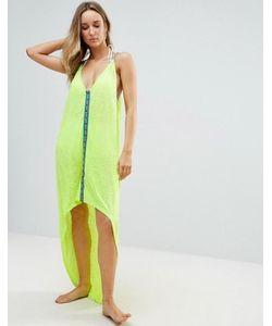 Pitusa | Асимметричное Пляжное Платье