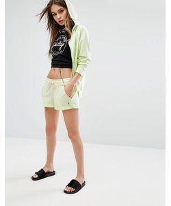Juicy Couture   Махровые Шорты С Пальмами И Закатанными Краями Juicy By