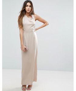 Asos | Платье Макси С Квадратной Горловиной И Открытыми Боками