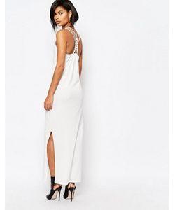 Vero Moda | Платье Макси С Решетчатой Спинкой