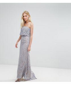 JARLO | Кружевное Платье-Бандо Макси