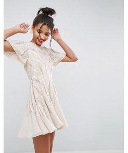 Asos | Короткое Приталенное Платье