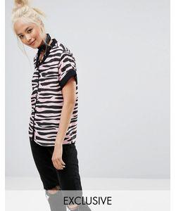 Lazy Oaf | Рубашка С Принтом Зебра