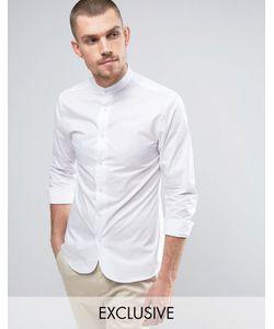 Noak | Зауженная Рубашка В Стиле Ретро С Закругленным Низом