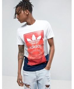 adidas Originals | Футболка С Большим Логотипом Bq3136