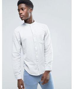Bellfield | Меланжевая Рубашка С Воротником На Пуговице