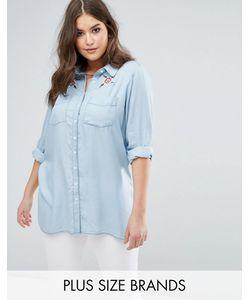 Koko | Рубашка С Цветочной Вышивкой