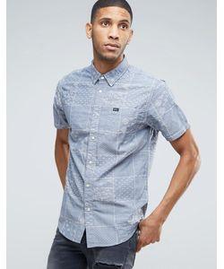 Rvca | Overlap Print Shirt