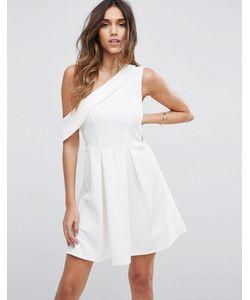 Asos | Платье Мини На Одно Плечо