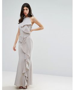 MISSGUIDED | Платье Макси С Оборкой