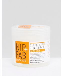 Nip+Fab | Отшелушивающие Ватные Диски Glycolic Fix Gentle Sensitive