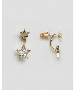 Orelia | Серьги Со Звездами И Камнями