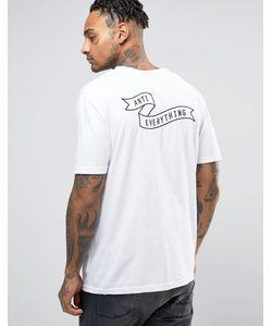Antioch | Футболка С Вышитым Логотипом Anti Everything На Груди