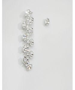 Krystall | Непарные Серьги С Кристаллами Swarovski London Trellis