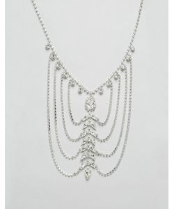 Krystal | Драпированное Ожерелье С Кристаллами Swarovski От