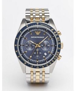 Emporio Armani | Часы Из Нержавеющей Стали С Хронографом Tazio Ar6088
