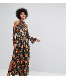 Horrockses   Платье Макси С Цветочным Принтом И Рукавами Клеш С Завязками
