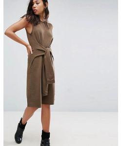 NYTT | Платье С Завязанными Декоративными Рукавами