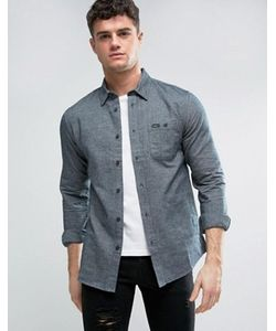 Rvca | Фланелевая Рубашка С Накладным Карманом
