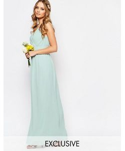 TFNC | Платье Макси С Запахом И Отделкой Wedding