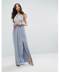 Rare | Платье Макси С Лямками И Двумя Разрезами London