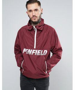 Penfield   Бордовая Легкая Куртка Через Голову