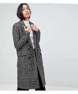 Vero Moda Tall | Приталенное Пальто В Клетку