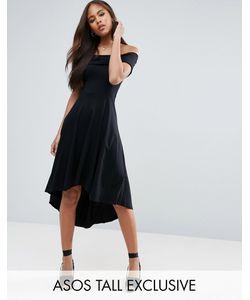 ASOS TALL | Приталенное Платье С Открытыми Плечами