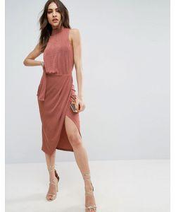Asos   Облегающее Платье Миди
