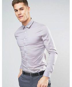 Asos | Эластичная Супероблегающая Рубашка