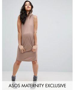 ASOS Maternity | Трикотажное Платье С Капюшоном Для Дома