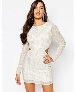 MISSGUIDED | Платье Мини С Вырезами На Талии Premium