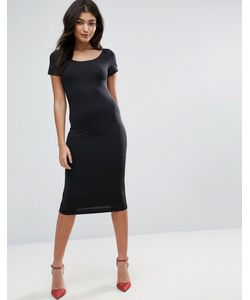 Jasmine | Облегающее Платье-Футболка Миди