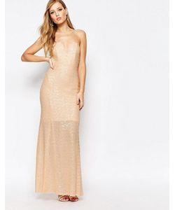 TFNC | Расшитое Пайетками Платье Макси Showstopper