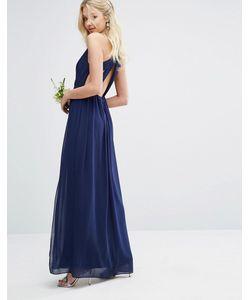TFNC | Платье Макси С Плиссировкой И Отделкой Сзади Wedding