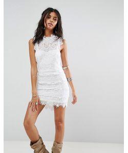 Free People | Кружевное Облегающее Платье Daydream