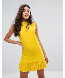 MISSGUIDED | Свободное Платье Асимметричной Длины