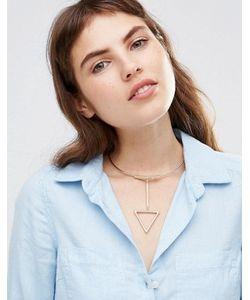 Ashiana | Ожерелье-Чокер С Подвеской