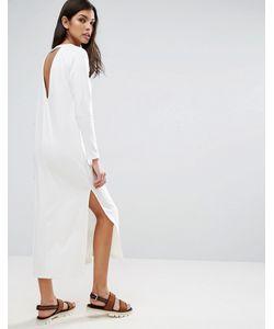 Asos | Платье Макси С Глубоким Вырезом Сзади